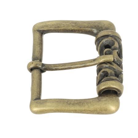 Boucle JAN - LAITON VIEILLI - 40 mm