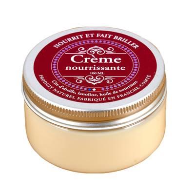 Crème pour nourrir et lustrer le cuir - pot de 100 ml