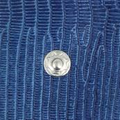 Kit 10 boutons pression et outils de pose - 15 mm - NICKELÉ