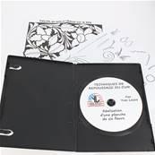 """Lot de 2 coffrets DVD """"Techniques du repoussage du cuir"""" par Yves LESIRE"""