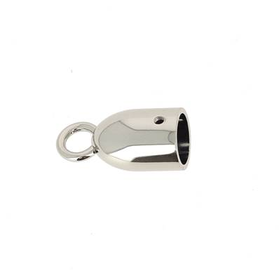 Cloche à pompon - NICKELÉ - 14 mm