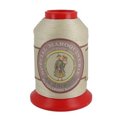Fil Spécial Maroquinerie polyester coton - 28/2 - 0,38 mm - BIS