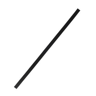 Lanière de collet végétal NOIR - 30x1 cm - Ep 1,9 mm
