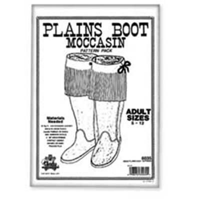 Patrons pour bottes mocassins en cuir - 6035