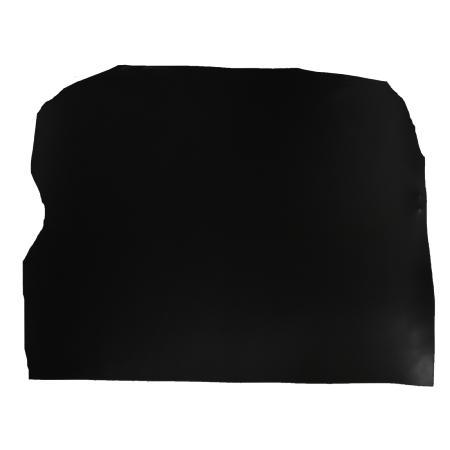 Demi croupon tannage végétal - NOIR - Épaisseur 1,9 mm