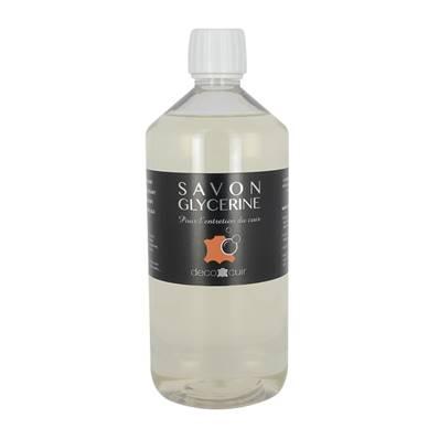 Savon glycériné liquide pour entretien du cuir - 1 litre