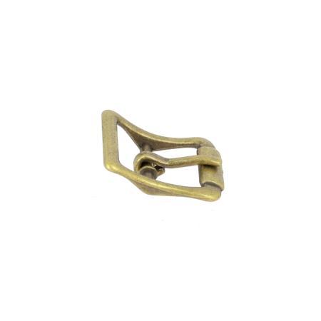 Boucle à faux rouleau TIM - LAITON VIEILLI - 13 mm - Tandy Leather