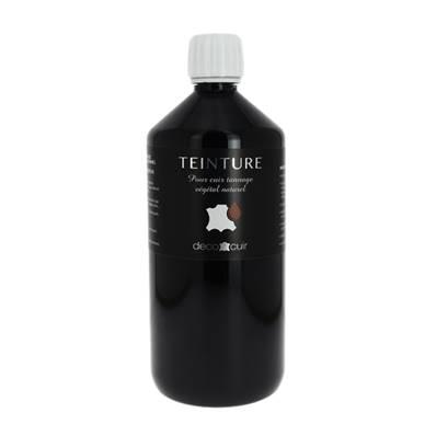 Teinture base aqueuse Deco Cuir - NOIR - 1 litre
