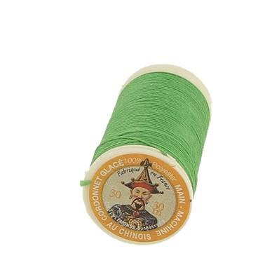 "Cordonnet 100% polyester ""Au Chinois"" - Bobine de 30 mètres - VERT VIF 865"