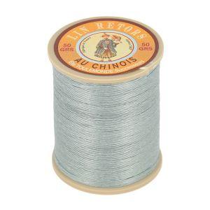 Bobine fil de lin au chinois retors extra glacé n°24 - GRIS CLAIR 115