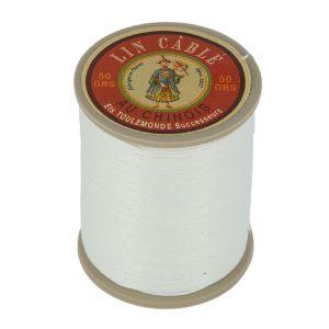 Bobine fil de lin au chinois câblé glacé - 432 - NATUREL 105