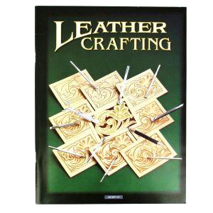 """Livre """"LEATHER CRAFTING"""" - Repoussage sur cuir végétal"""