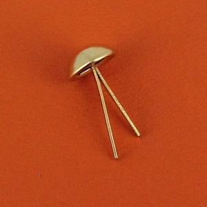 Pied de sac ROND - DORE - 12 mm