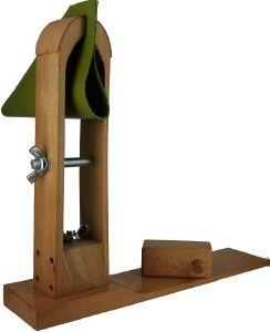 Valet de couture en bois - Pince à coudre le cuir - Grand modèle ECONOMIQUE