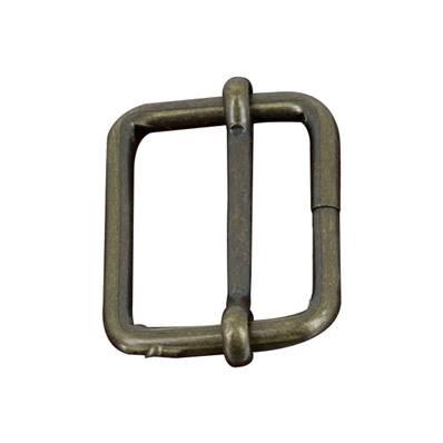 Boucle coulissante - Laiton vieilli - 35 x 26 mm - Fil 4,5 mm