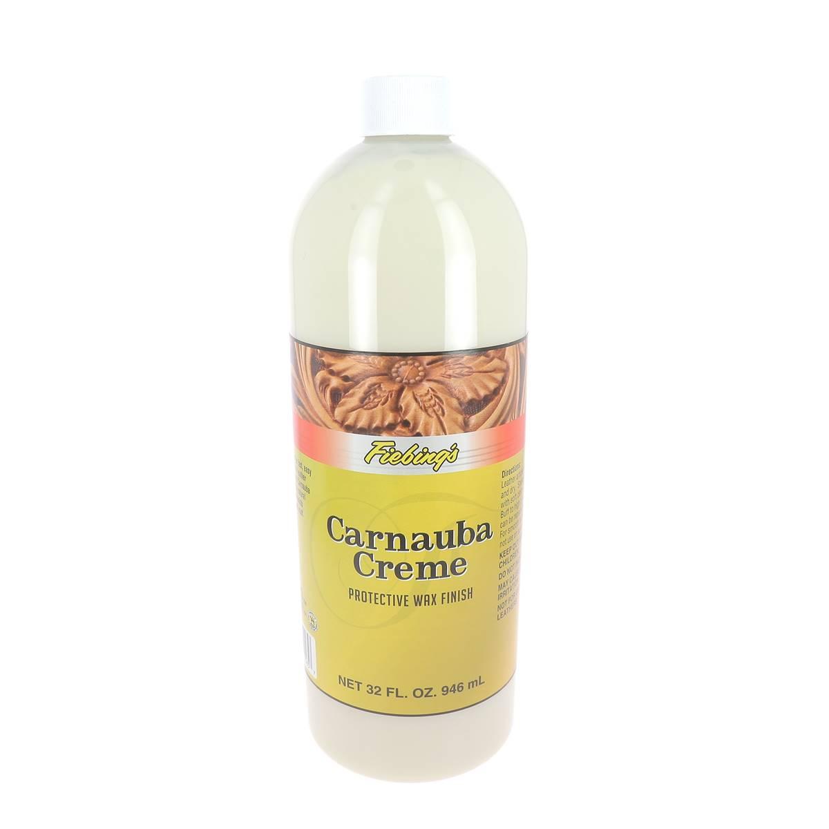 Crème à la cire de Carnauba - FIEBING'S CARNAUBA CREME - Bidon de 946 ml