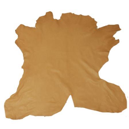 Peau de cuir de veau entier tannage végétal - CANNELLE B73