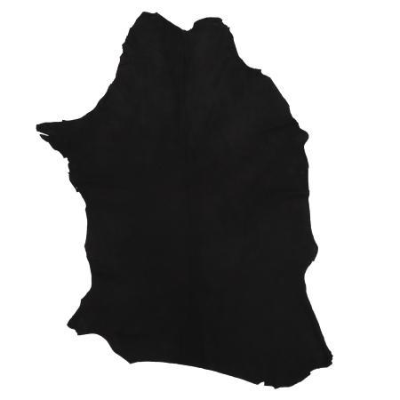 Peau de chèvre velours - NOIR C43