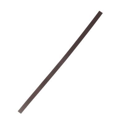 Lanière de collet végétal CHOCOLAT - 30x1 cm - Ep 1,9 mm