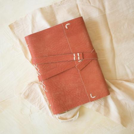Kit complet carnet en cuir