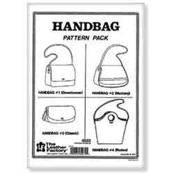 Patrons pour sacs à main en cuir - 6033-00