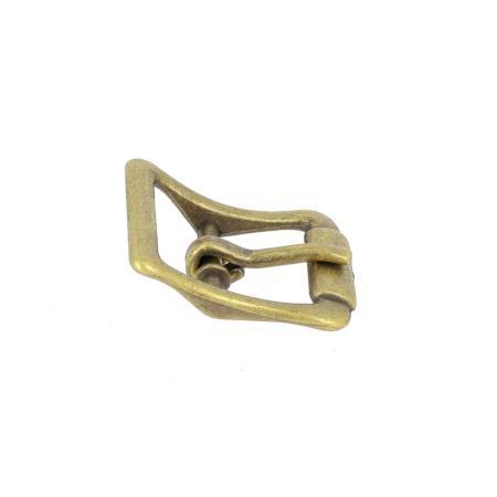 Boucle à faux rouleau TIM - LAITON VIEILLI - 16 mm - Tandy Leather