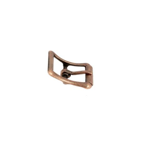 Boucle à faux rouleau TIM - VIEUX CUIVRE  - 13 mm - Tandy Leather