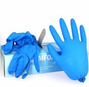 Une boite de 100 gants de protection - NITRILE - PETIT