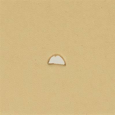 Embout emporte-pièce de précision - DEMI ROND - 2x4,5 mm