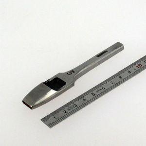 Emporte pièce à frapper à enchapure 2,5x11 mm - VERGEZ BLANCHARD n° 5