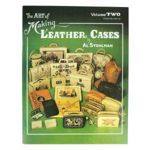 """Livre """"THE ART OF MAKING LEATHER CASES"""" - L'art de créer des étuis en cuir - Volume 2"""