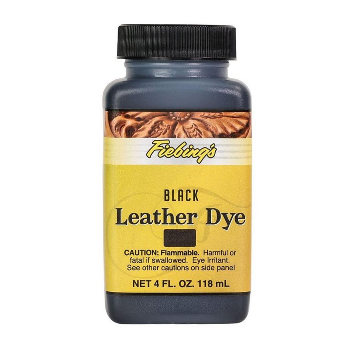 Teinture pour cuir FIEBING'S Leather dye - NOIR - BLACK