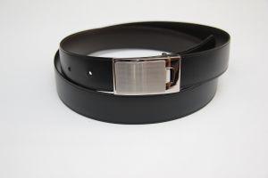 Boucle de ceinture à griffe LEV - NICKELÉ SATINÉ - 30 mm