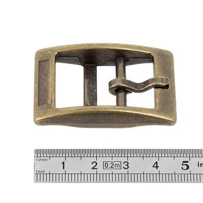 Boucle double KIM - LAITON VIEILLI - 20 mm