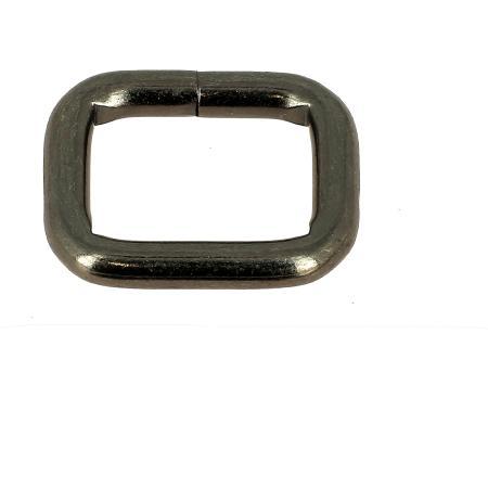Passant rectangulaire - CANON DE FUSIL - 20x15 mm