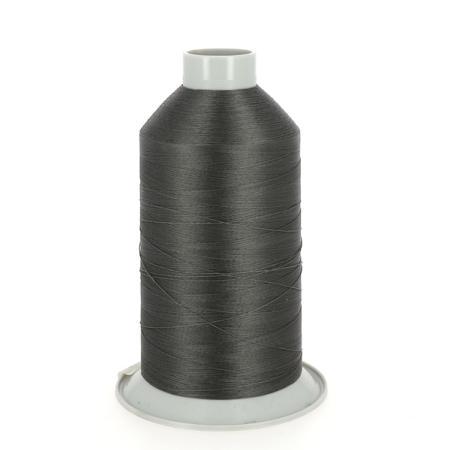 Bobine de fil polyester N°20 - 1800 m - TAUPE FONCÉ 5194