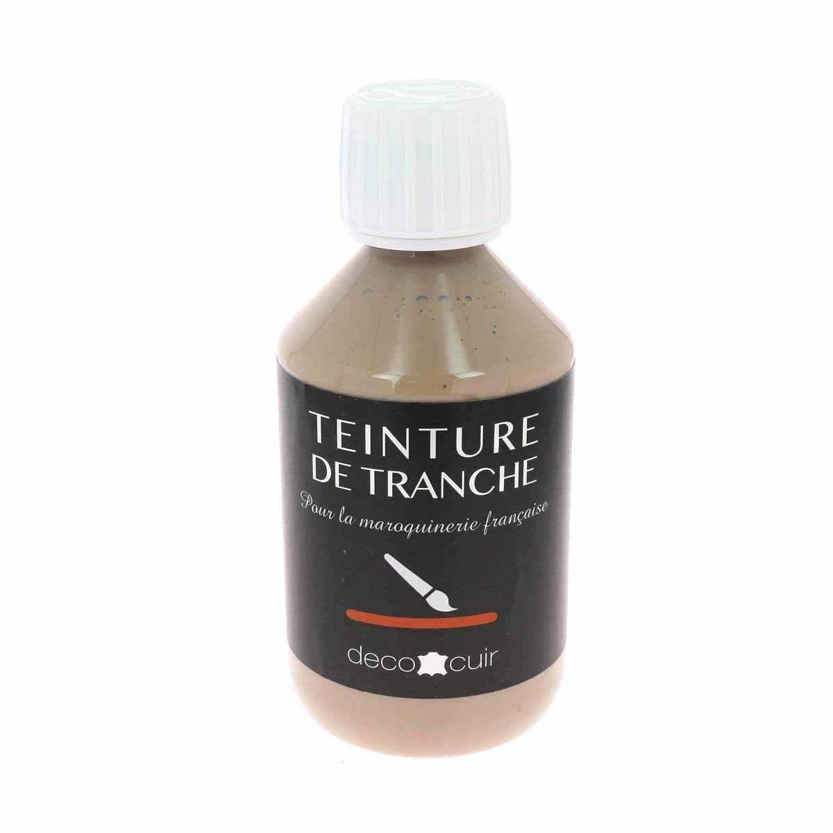 Finition de tranche ARGILE MAT - Deco Cuir - 250 ml