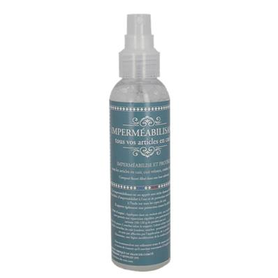 Imperméabilisant base solvante pour le cuir - Spray en flacon de 150 ml