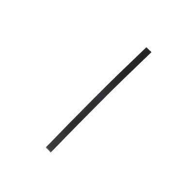Lanière de collet végétal NOIR - 20x1 cm - Ep 1,9 mm
