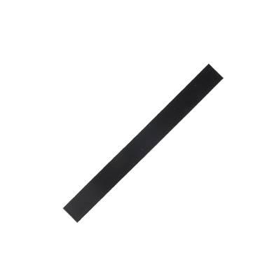 Lanière de collet végétal NOIR - 20x2 cm - Ep 1,9 mm