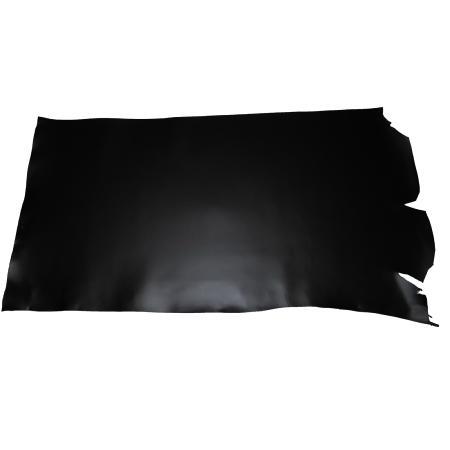 Croupon tannage végétal - NOIR - Épaisseur 1,9 mm