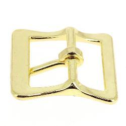 Boucle à faux rouleau TIM - LAITON - 19 mm - Tandy Leather