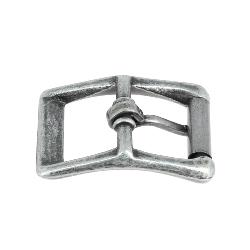 Boucle double ANY - ARGENT VIEILLI - 19 mm - Tandy Leather
