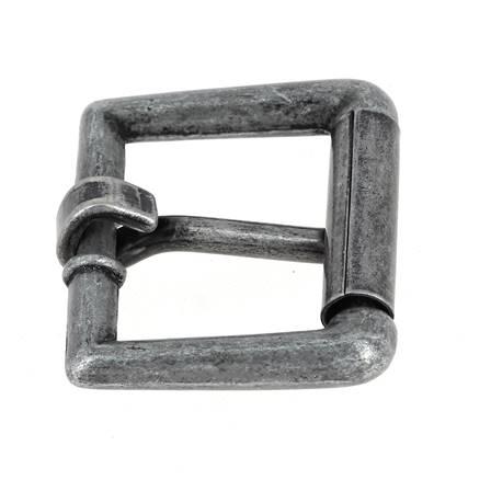 Boucle à rouleau YOU - ARGENT VIEILLI - 25 mm - Tandy Leather