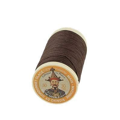 """Cordonnet 100% polyester """"Au Chinois"""" - Bobine de 30 mètres - CAFE 210"""