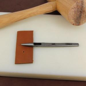 Emporte-pièce à frapper rond - Diam 1 mm - Vergez Blanchard