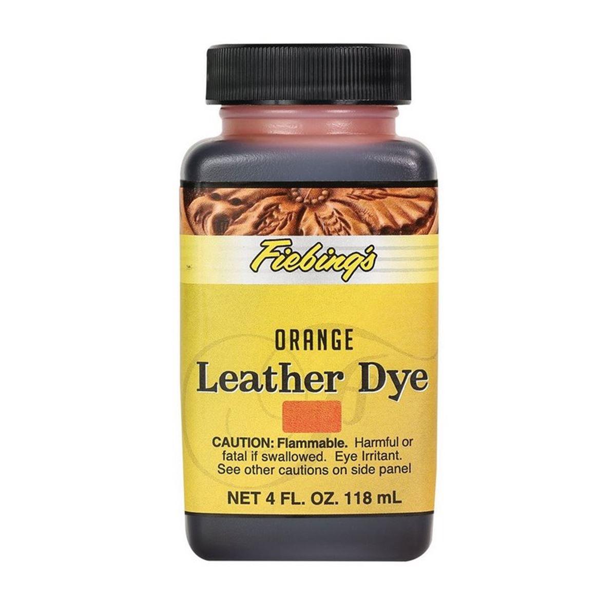 Teinture pour cuir FIEBING'S Leather dye - ORANGE