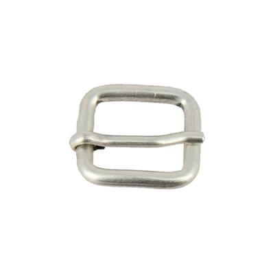 Boucle à ardillon - ARGENT VIEILLI - 15 mm