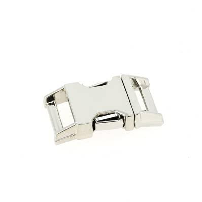 Fermeture clip - NICKELE - 20 mm