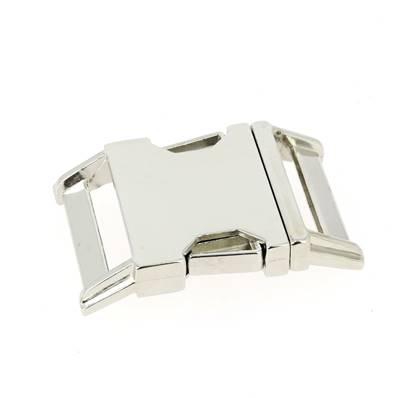 Fermeture clip - NICKELE - 30 mm